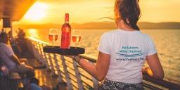 Balatonföldvári sétahajózás, romantikus hajókirándulás, naplemente túra 2021