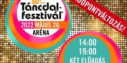 50 + éves Táncdalfesztivál koncert 2022. Online jegyvásárlás