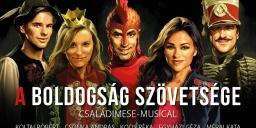 A Boldogság Szövetsége 2021. Családimese-musical, online jegyvásárlás