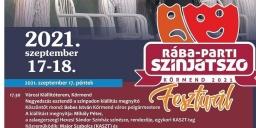 Színjátszó Fesztivál Körmend 2021. RÁBA-PARTI SZÍNJÁTSZÓ FESZTIVÁL