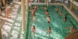 Aqua Fitness hetente háromszor a Wellness Hotel Gyula szállodában
