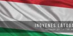 Ingyenes múzeumlátogatás Budapesten október 23-án a Magyar Természettudományi Múzeumban