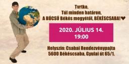 Vujity Tvrtko előadása Békéscsabán, a Csabai Rendezvénypajtában