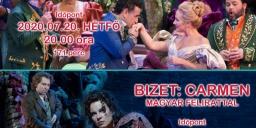 Opera Balatonfüred 2020.  Nyáresti operák,  a New York-i Metropolitan előadásai