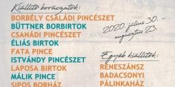 Badacsonyi Borhétvégék 2020