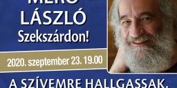 Pszichológiai előadás Szekszárdon, Dr. Mérő László előadása a Babits Mihály Kulturális Központban