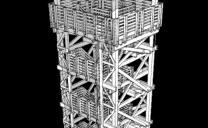 Láz-tetői kilátó Vállus