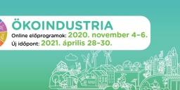 Ökoindustria 2021. Környezetipari, Energiahatékonysági és Megújuló Energiaforrások Szakkiállítás