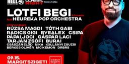 LOTFI BEGI and Friends koncert Budapesten a Margitszigeti Szabadtéri Színpadon