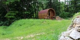 Szabadtéri szaunázás erdei pihenőparkunkban, igény szerint étkezési- és  szálláslehetőséggel