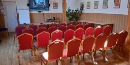 Konferenciaterem bérlés vadászkastélyunkban szállás- és étkezési lehetőséggel