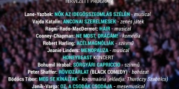 Mézesvölgyi Nyár Szabadtéri Fesztivál Veresegyház 2021. Színházi előadások a Szabadtéri Színpadon