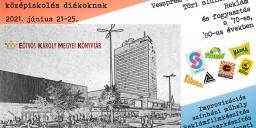 Helyismereti tábor Veszprémben középiskolásoknak az Eötvös Károly Megyei Könyvtárban