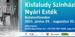 Kisfaludy Színház programok 2021 Balatonfüred