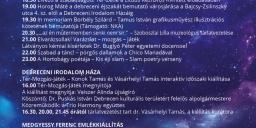 Múzeumok Éjszakája Debrecen 2021. Debreceni Irodalom Háza és Medgyessy Ferenc Emlékmúzeum