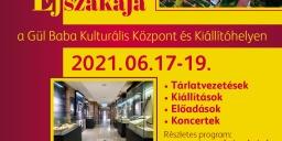 Műtárgyak Éjszakája a Gül Baba Kulturális Központ és Kiállítóhelyen 2021