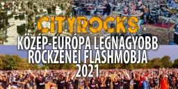 CityRocks 2021. Közép-Európa legnagyobb rockzenei flashmobja Dunaújváros