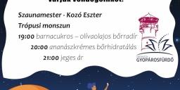 Strandok Éjszakája Orosháza-Gyopárosfürdő 2021
