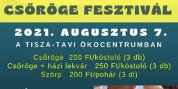 Csöröge Fesztivál Poroszló 2021