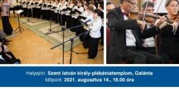 Gödöllői Szimfonikus Zenekar koncert 2021. Hangverseny Galántán