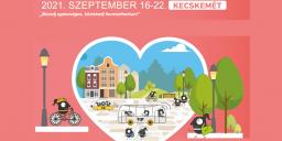 Európai Mobilitási Hét Kecskemét 2021