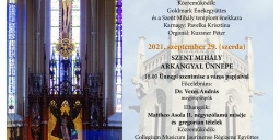 Szent Mihály napi búcsú Sopron 2021