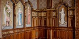 Szent István-terem Budapesten, interaktív történelmi digitális kiállítás a Budavári Palotában