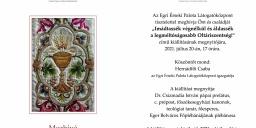 Egri Érseki Palota időszaki kiállítás 2021. Eukarisztikus kiállítás