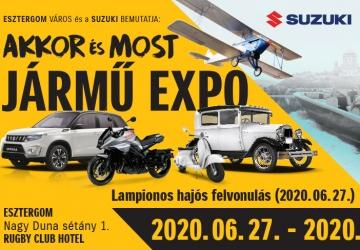 Akkor és Most Jármű Expo 2020. Veterán- és Különleges Autók Találkozója Esztergom