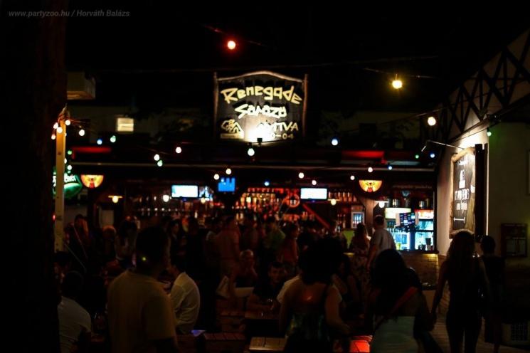 Renegade Pub Siófok 2020. Szórakozás egész nyáron