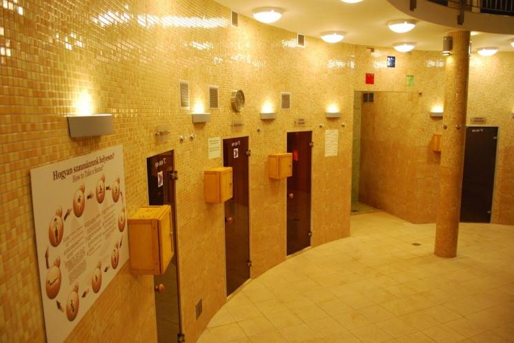 Szauna sziget Gyula, szaunázási lehetőség a Wellness Hotel Gyula-ban bejáró és szállóvendégeknek