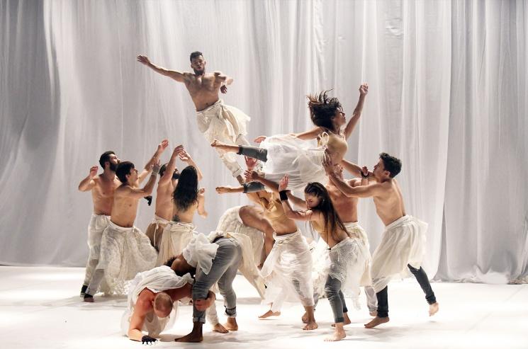 Hervé Koubi, Natasha Atlas: ODÜSSZEIA balett előadás a budapesti Margitszigeti Szabadtéri Színpadon