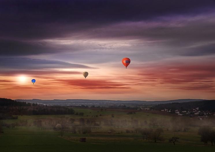 Balaton hőlégballon repülés wellness pihenéssel a hévízi Bonvital felnőttbarát szállodában