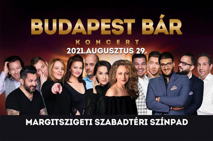 Budapest Bár koncert Budapesten, a Margitszigeti Szabadtéri Színpadon