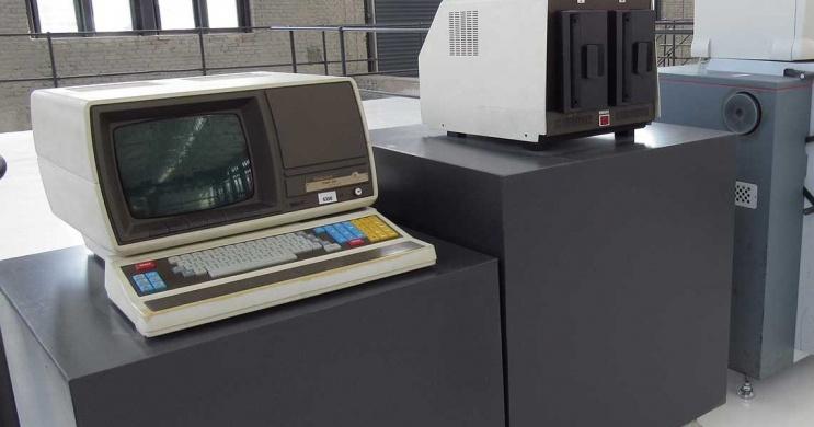 Informatika történeti kiállítás Ózdon a Digitális Erőműben