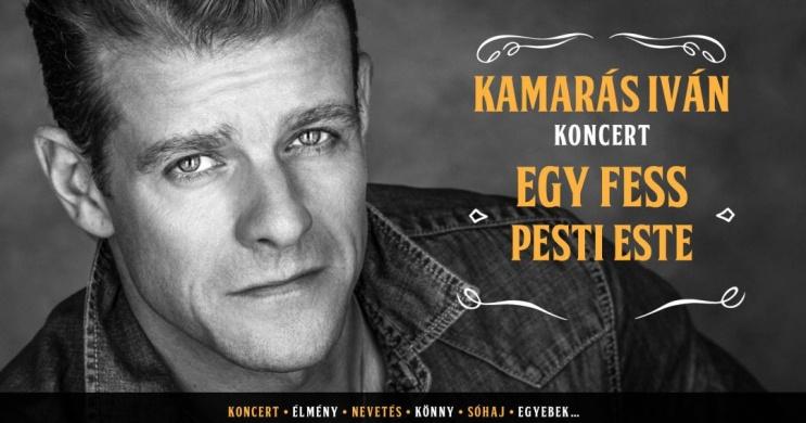 Kamarás Iván koncert. Online jegyvásárlás