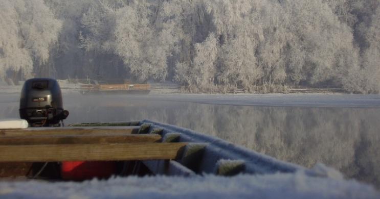 Téli horgászat a Tiszán a tiszafüredi Balneum Hotel szervezésében