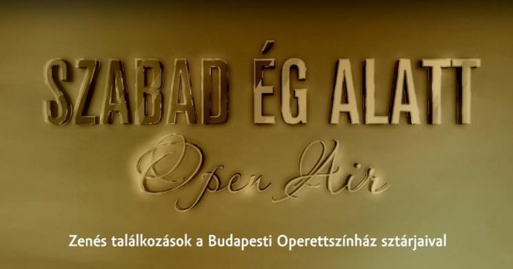 Operett gála előadások a Budapesti Operettszínház társulatával 2021. Online jegyvásárlás