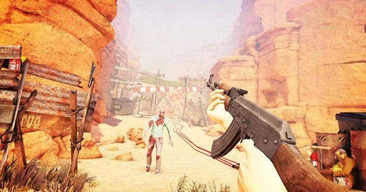 Zombi VR játék péntekenként kedvezménnyel, sivatagi túélélés vagy harc a gonosz földönkívüliek ellen