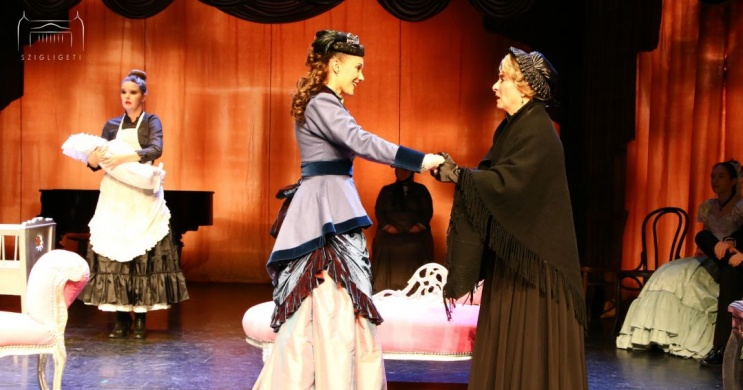 Szolnoki Szigligeti Színház műsor 2021. Online jegyvásárlás