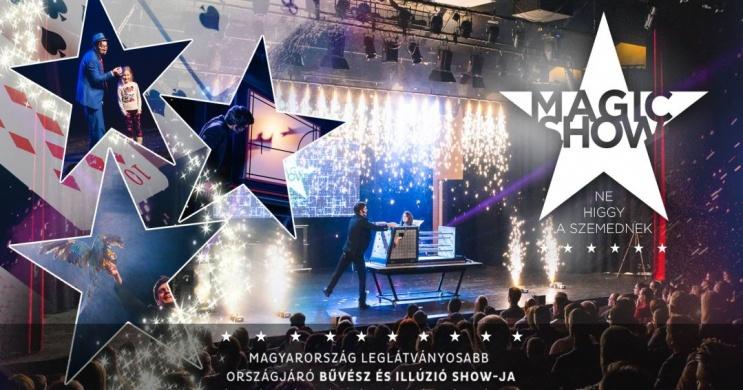 Magic Show. Látványos bűvész és illúzió show előadások online jegyvásárlással
