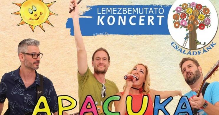 Apacuka zenekar koncertek 2021. Online jegyvásárlás