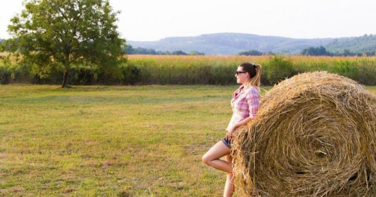 Biofarm látogatás Garaboncon, gyümölcs-és zöldségtermesztés, állattenyésztés egy élménygazdaságban