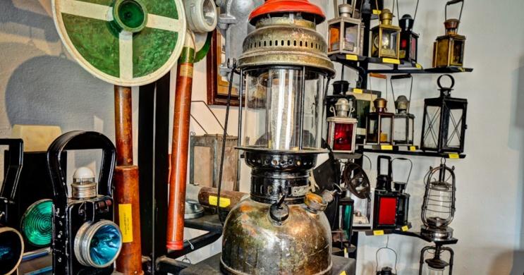 Vasúti Lámpamúzeum Fertőszéplak