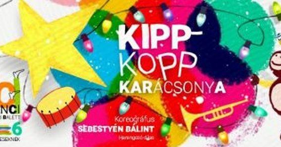 Baba program Győr. Kippkopp karácsonya baba-táncszínházi program