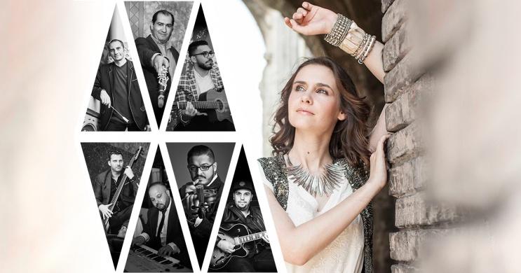Tompos Kátya és a Swing à la Django koncert Budapesten, a Városmajori Szabadtéri Színpadon