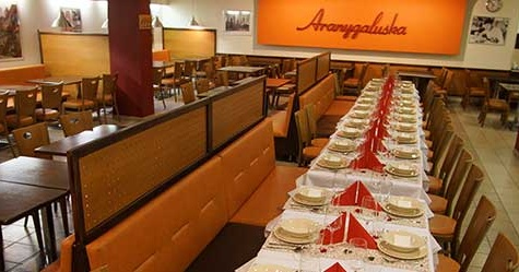 Aranygaluska Étterem Pécs