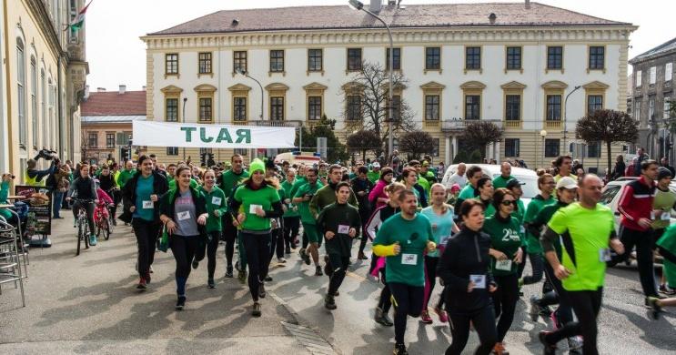 Szent Patrik-napi futás Sopron