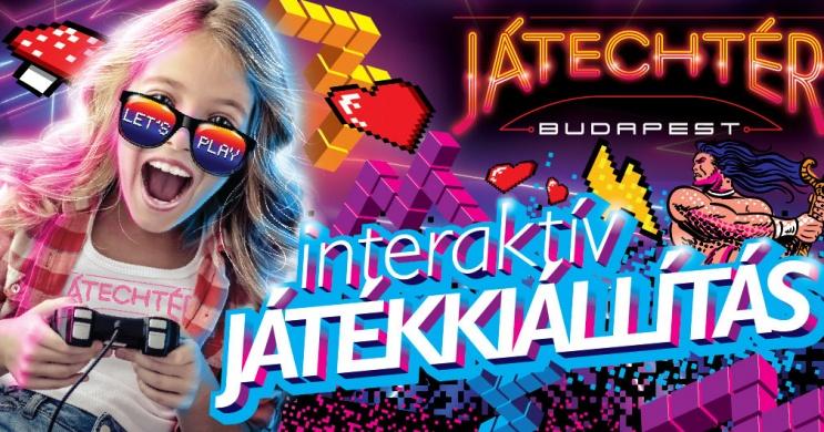 Játékkiállítás Budapest 2021 / 2022. JátechTér Budapest interaktív játékkiállítás, online jegyek