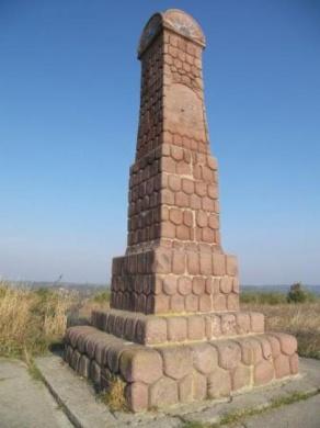 Soós Lajos obeliszkje Balatonkenese